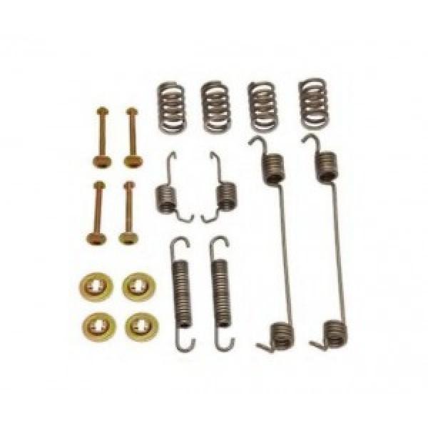 Ремкомплект задних тормозных колодок DACIA LOGAN (D=180) QSP-M