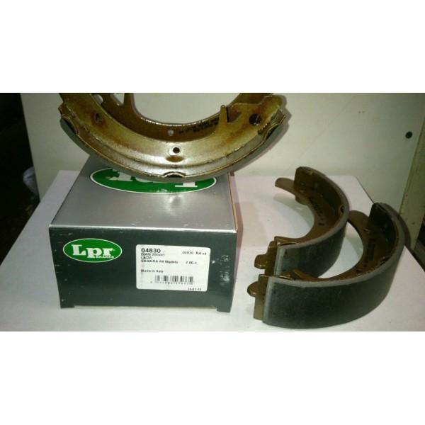 Колодка тормозная задняя Ваз-2108-15 LPR