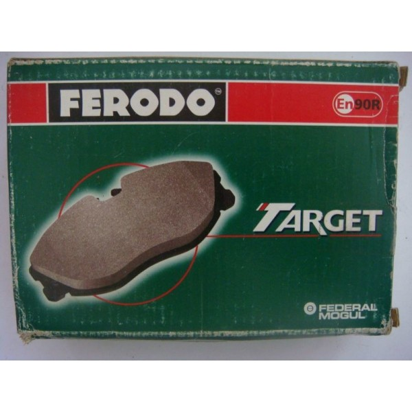 Тормозная колодка передняя Ваз-2101-07 (зеленая) FERODO