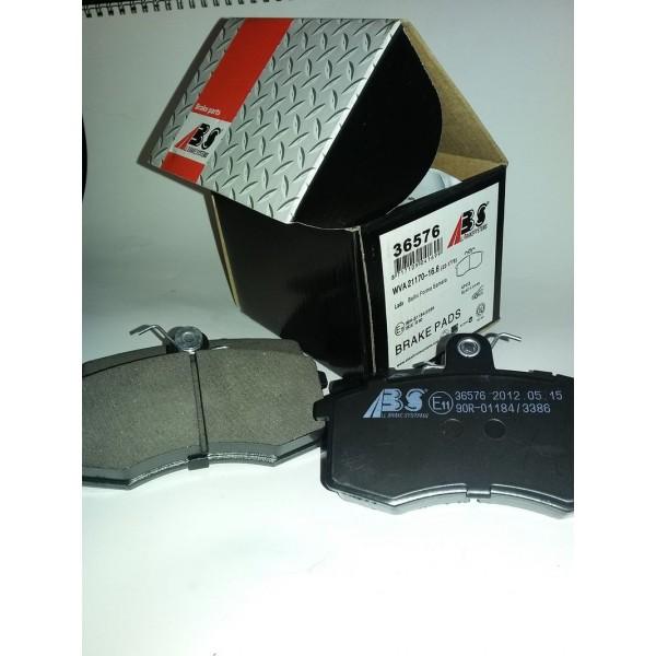Колодка тормозная передняя Ваз-2108-15 A.B.S