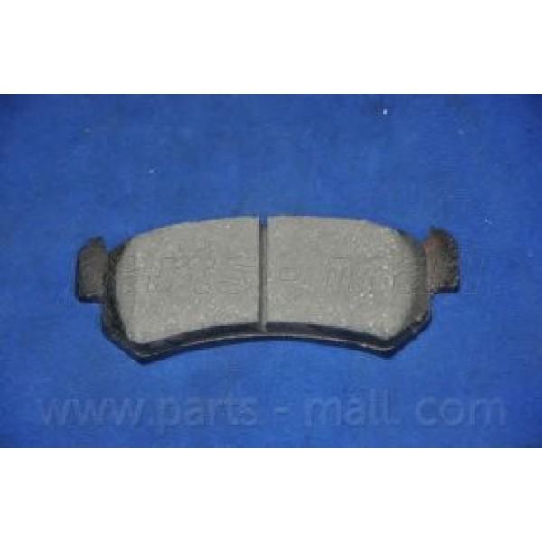 Колодки тормозные дисковые задние старый образец LACETTI PARTS-MALL