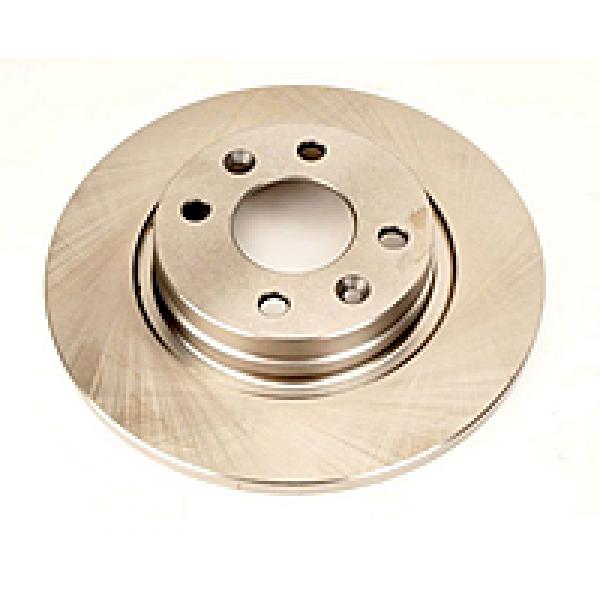 Тормозной диск не вентилируемый d=238 Dacia Logan QSP-M