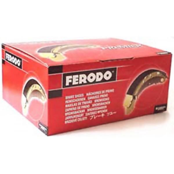 Колодка тормозная задняя Lanos FERODO