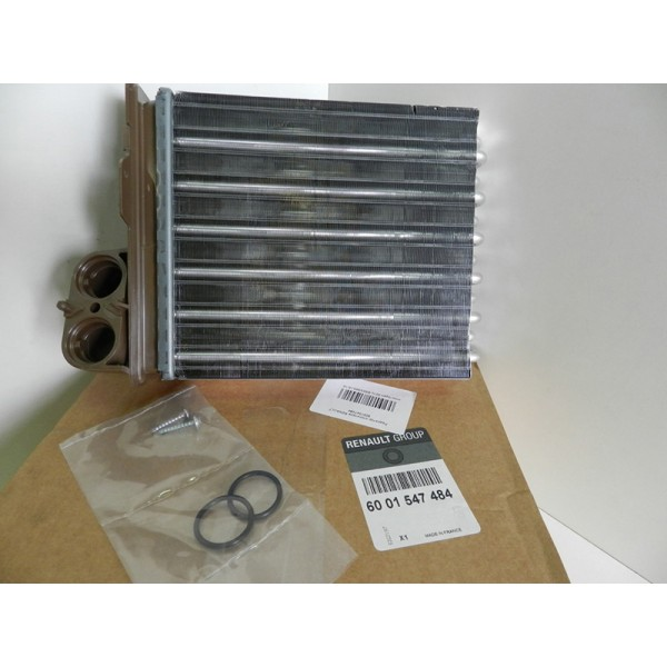 Радиатор отопителя (печки) алюмин. на 12 трубок под VALEO Logan,Largus, Duster,Sandero grog Корея